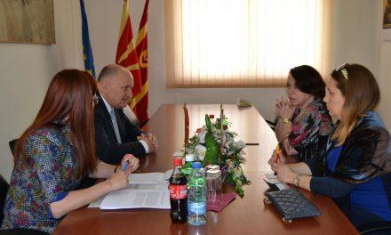 Германската амбасадорка Кристине Алтхаузер во работна посета на Кочани