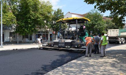 """Реконструкција на улицата """"Тодосија Паунов"""""""