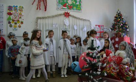 Благодарност за поддршката на новогодишните пакетчиња за најмладите