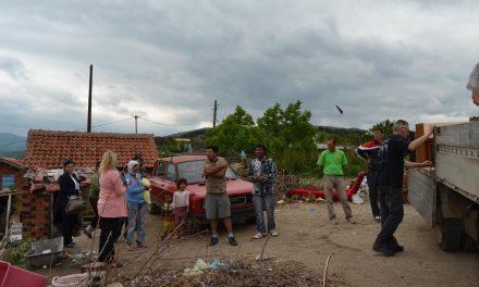 Донација за социјално загрозени семејства во Кочани