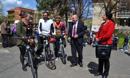 """Во пресрет на Денот на планетата Земја – """"Сите на велосипед"""""""