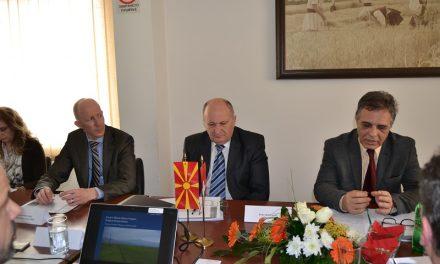 Состанок на Управниот одбор на проектот за изградба на пречистителна станица за отпадни води во Кочани