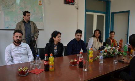 Прием на ромска делегација кај градоначалникот Димитровски