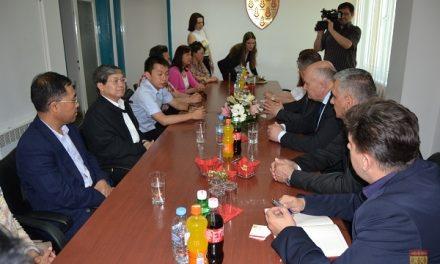 Делегација од Амбасадата на Народна Република Кина во Република Македонија