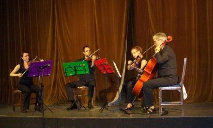 """Концерт на гудачкиот квартет """"Вива стрингс"""" во Кочани"""