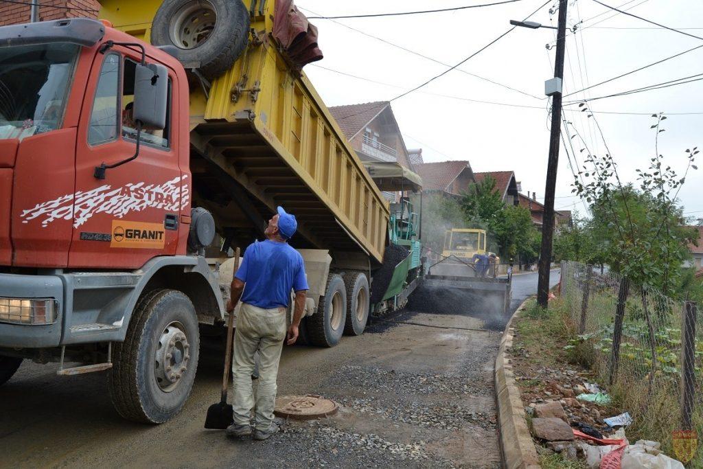 Се асфалтираат улиците со заемот од Светска банка