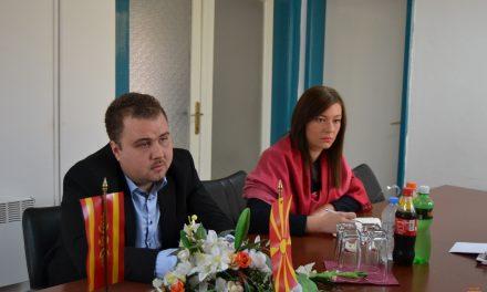 Заменик-министерот за локална самоупрва Љупчо Пренџов во посета на Општина Кочани
