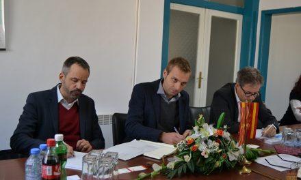 Во Општина Кочани – работна средба со претставниците од проектот за изградба на пречистителна станица за отпадни води