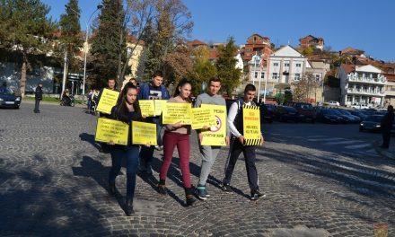 Дефиле по повод Неделата на сеќавање на жртвите од сообраќајни незгоди
