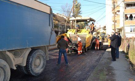 "Улицата ""Доктор Николиќ"" доби нов асфалтен слој"