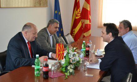 Шефот на Светска банка во Македонија на средба со градоначалникот на Кочани
