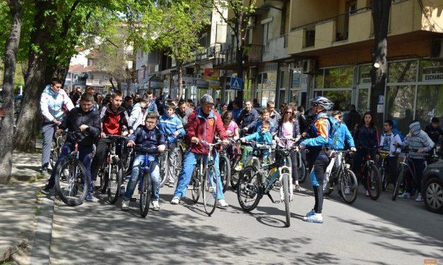 Велосипедско дефиле по повод Европската недела на мобилност