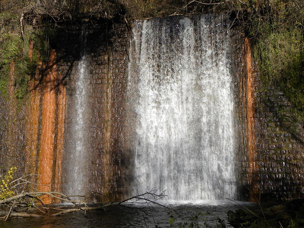 Водопадите на езерото Градче