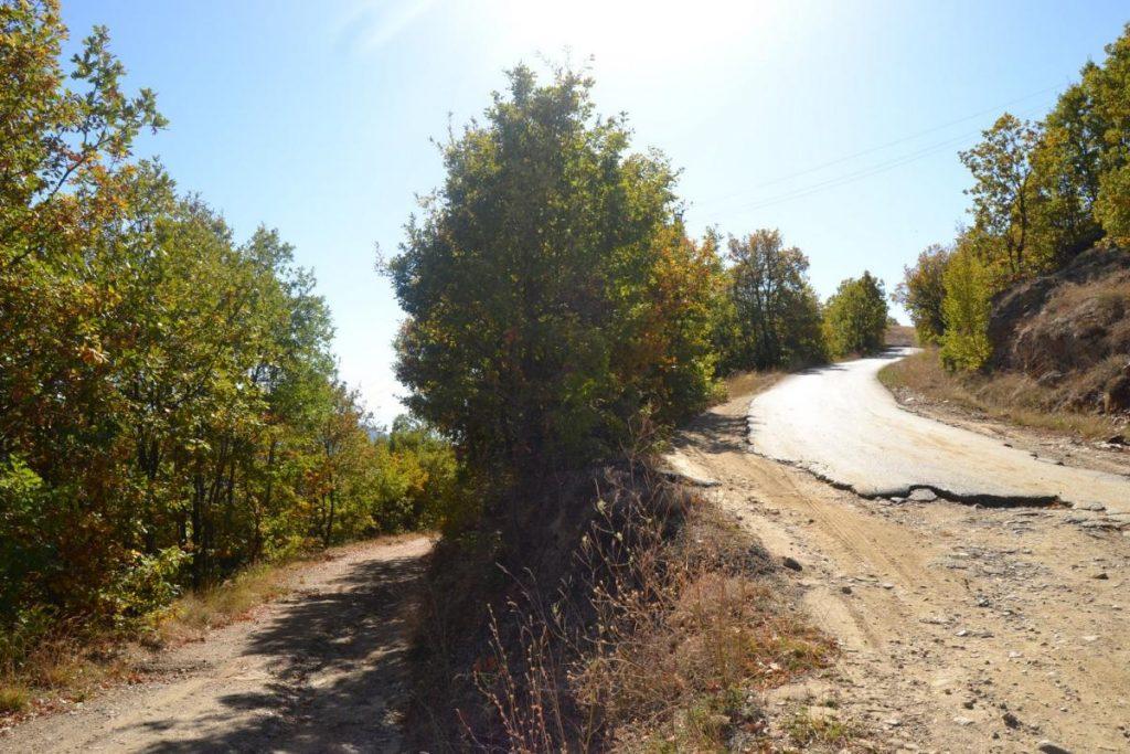 Одобрени средства за асфалт на патот од Крушка кон Полаки
