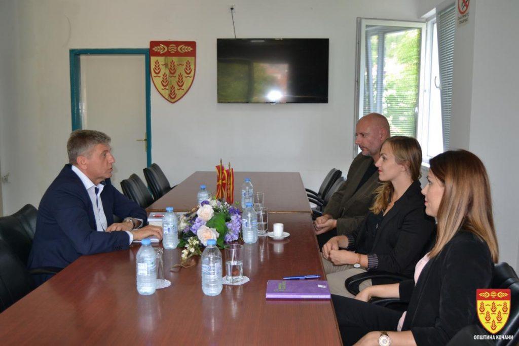 """Средба на градоначалникот Илијев со претставници од """"Фридрих Еберт"""""""