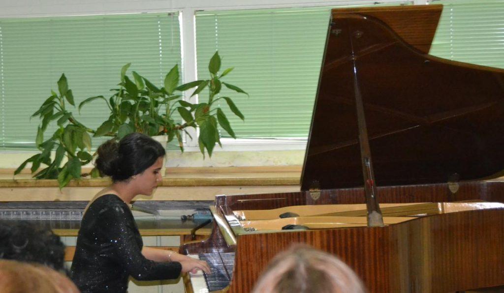 Kонцерт на пијано на Благица Арсова