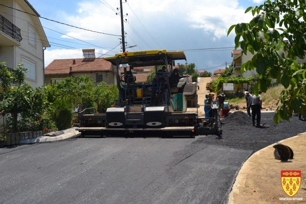 За шест месеци – поддршка од 22, 5 милиони денари за инфраструктурни проекти во Кочани