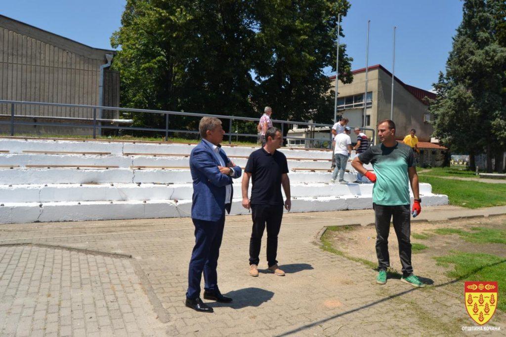 """За претстојниот """"Петровденски турнир"""" – се уредува теренот за мал фудбал"""