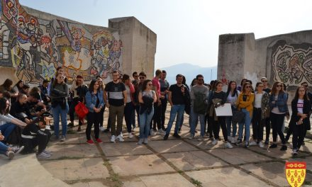 Студентите од Архитектонскиот факултет на УКИМ во поддршка на урбанистичкото обликување на Кочани