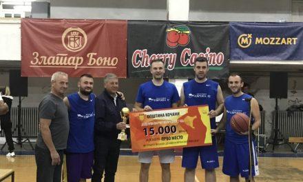 """""""Дружината на Вацко"""" – најдобра на турнирот во баскет"""