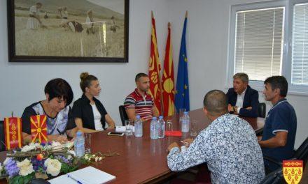 Градоначалникот Илијев на средба со претставници од граѓанскиот сектор