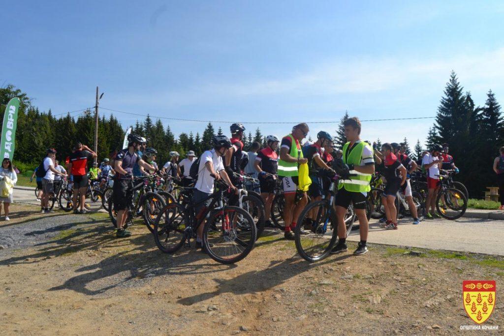"""""""Планински велосипедски рај"""" – проект за развој на авантуристичкиот туризам на Осоговските Планини"""