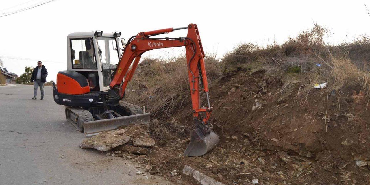 Започна изградбата на тротоари на неколку локации во Кочани
