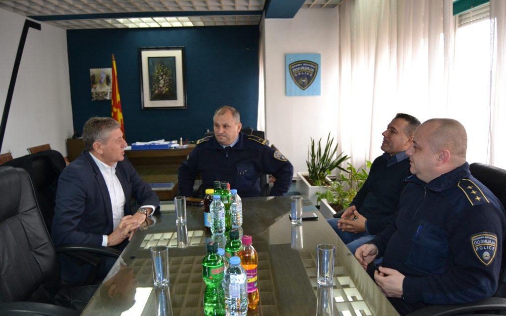 Полициските службеници од Кочани со превентивни мерки за новогодишните и божиќните празници