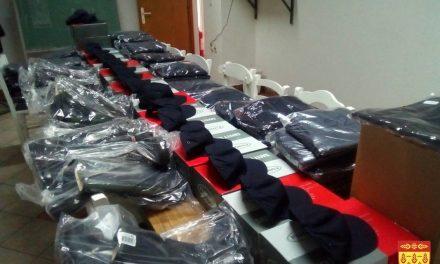 Нови работни униформи за кочанските пожарникари