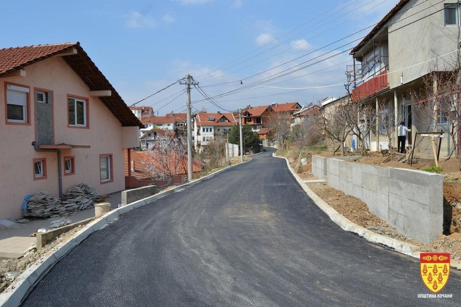 Завршува изградбата на три улици во Кочани, наскоро ќе се асфалтира во Прибачево, Оризари и Тркање
