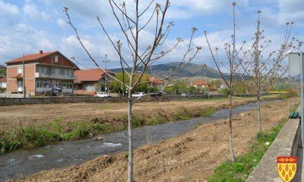 Пролетно уредување на зелените површини во Кочанско и на кејот на реката Масалница
