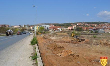 Комунални активности за уредување на повеќе локации во Кочани и  во населените места