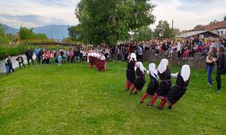 """Во Оризари се одржа Меѓународниот фолклорен фестивал """"Ѓурѓовденски обичаи, песни и ора"""""""