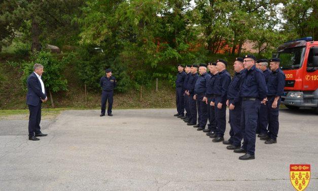 Кочанската противпожарна единица го одбележа Денот на пожарникарството