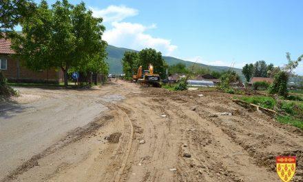 Реконструкција на патот од Кочани до селото Мојанци