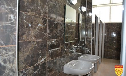"""Реконструирани санитарните јазли во ОУ """"Крсте Мисирков"""""""