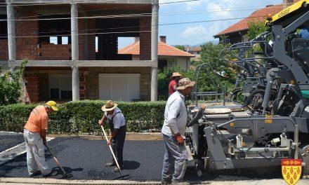 Со Проектот за подобрување на општинските услуги – нови инвестиции во патната инфраструктура во Кочани