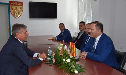 Министерот Оливер Спасовски на средба со градоначалникот Илијев