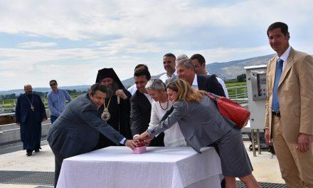 Свечено отворена Пречистителната станица за отпадни води во Кочани