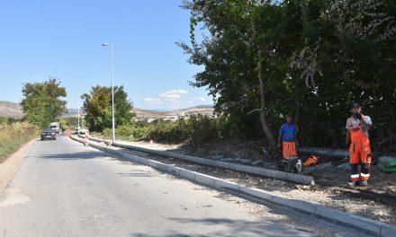 Jaвнo oсветлување за патниот правец кон кочанските села Подлог и Мојанци