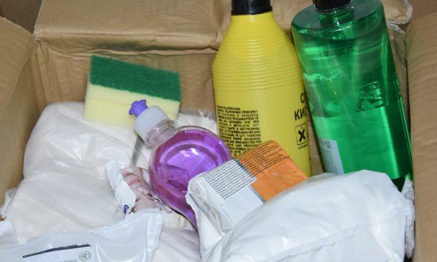 Хигиенски пакети за социјално загрозените граѓани заразени од жолтица