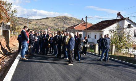 Министерот за земјоделство Димковски и директорот на Платежната агенција Бабовски во посета на реализирани капитални инвестиции во Кочани