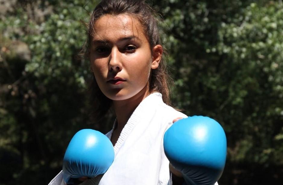 Каратистката Мартина Шахинова – спортист на Кочани за 2019 година