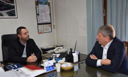 Новата година Кочани ја дочека во мирна атмосфера – градоначалникот Илијев на средба со одговорните служби