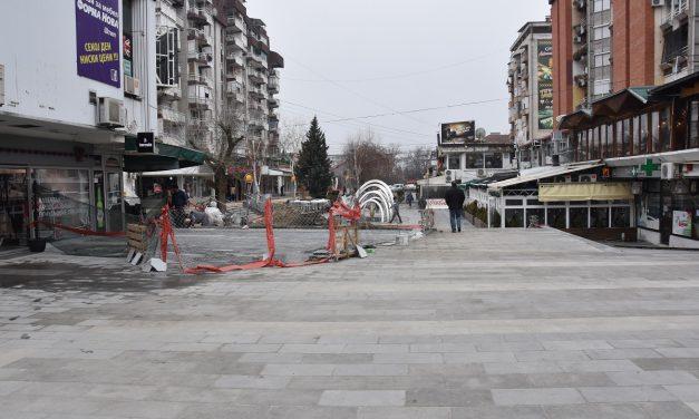 Реконструкцијата на шеталиштето во Трговскиот центар – во напредна фаза