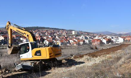 Почна изградбата на улици во месноста Прокарка
