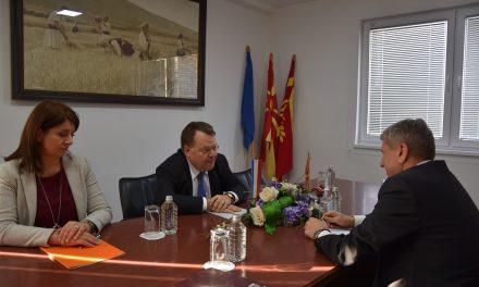 Холанскиот амбасадор во посета на Општина Кочани