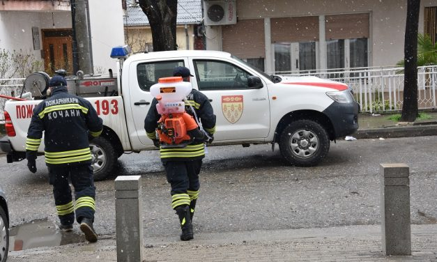 Градоначалникот Илијев со иницијатива за дезинфекција на производните хали во Кочани