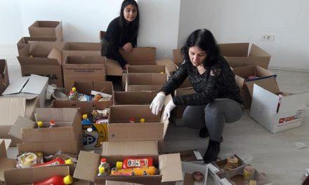 По повод 8 Април –  пакети со храна и хигиенски средства за ромски семејства во Кочани
