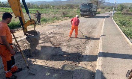 Завршна фаза од работите на локалниот патен правец Кочани – Мојанци